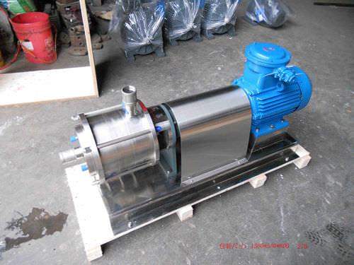 miscelatore a rotore-statore / continuo / multistadio / ad elevata azione di taglio
