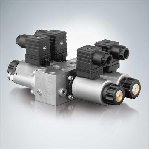 distributore idraulico a cassetto / azionato tramite solenoide / proporzionale / compatto