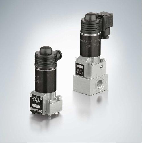 distributore idraulico a valvola / a 4/2 vie / a 3/2 vie / a 2/2 vie