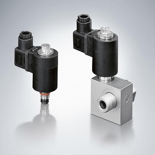 distributore idraulico a valvola / a comando diretto / a comando assistito / a 2/2 vie