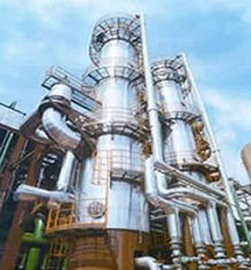 evaporatore termico / a film / di processo / per liquidi