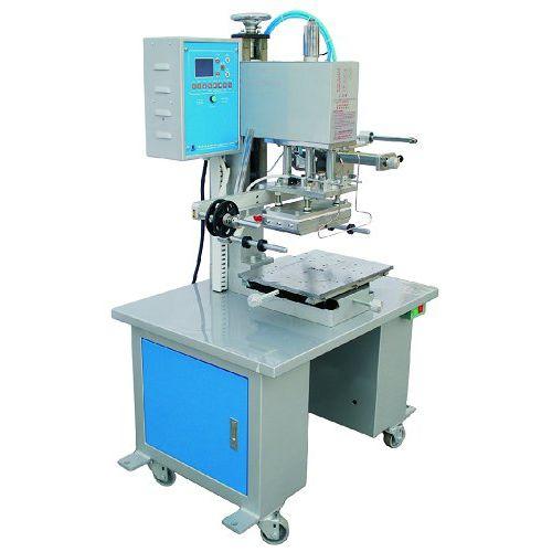 macchina di stampa a caldo di lamine elettropneumatica / per grandi superfici di impressione