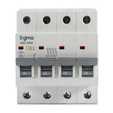 interruttore automatico piccolo / termico / per sovraccarichi / a bassa tensione