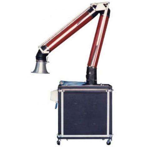 aspiratore di fumo mobile / ad uso industriale / con filtro secco / con braccio aspirante