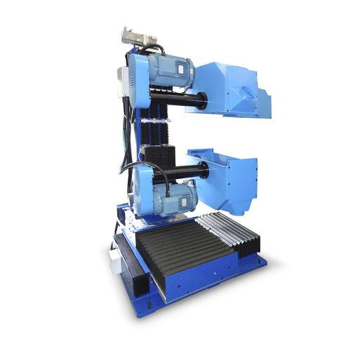 tavola rotante azionata a motore / inclinabile / CNC / con unità di pulitura doppia CPDO