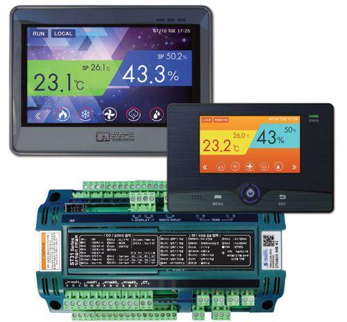 controllore e limitatore di temperatura con regolazione dell'umidità
