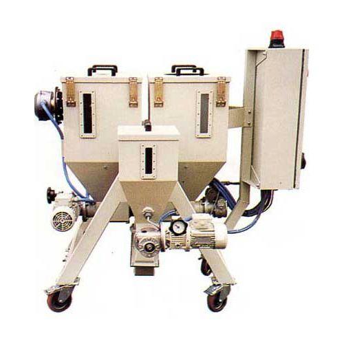 miscelatore a vite conica / continuo / per polvere / automatico