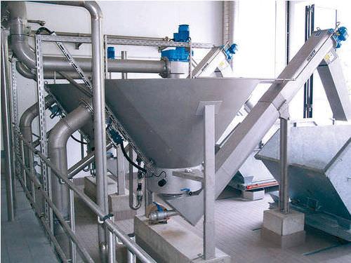 impianto di lavaggio di sabbia