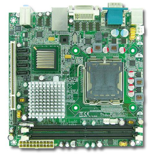 computer monoscheda embedded / mini-ITX / Intel® Celeron® D / Intel® Pentium® 4