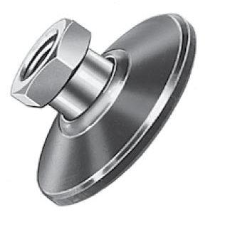 piede di macchina / in acciaio / di livellamento / filettato