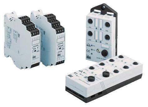 morsetto componibile su guida DIN / per modulo I/O / passante