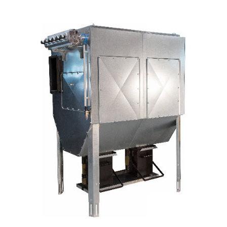 aspiratore di fumo da terra / ad uso industriale / per filtro a tasca / di polvere