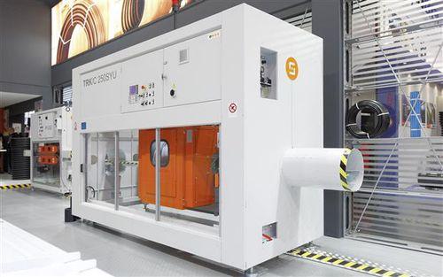 macchina da taglio per materie plastiche / a lama / per tubi / CNC