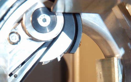 traino e taglierina per linea di estrusione per profilati / per linea di estrusione di tubi