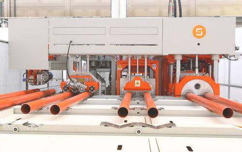 bicchieratrice automatica / per tubi in PE / per tubo in PP