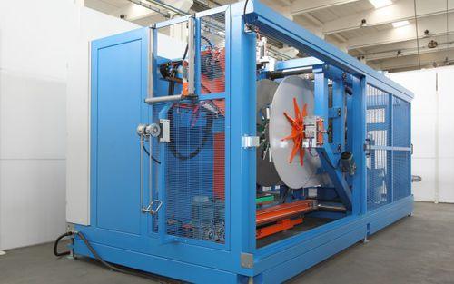 bobinatrice automatica / per tubi / per linea di estrusione