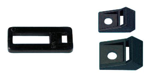 supporto di montaggio per fascetta di cablaggio in plastica