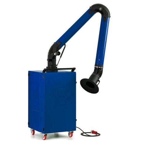 aspiratore di fumo mobile / di saldatura / con filtro in linea / con filtro HEPA