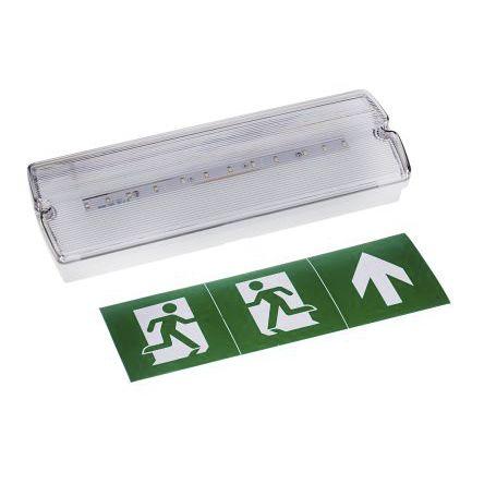 illuminazione di emergenza / LED / in policarbonato / economizzatore