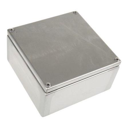 scatola di raccordo in acciaio inox / su guida DIN / IP66