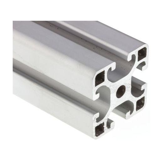 profilo lega d'alluminio / con scanalature / a sezione rettangolare / leggero