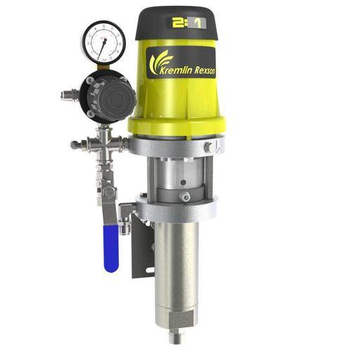 pompa per verniciatura / azionata ad aria / a innesco standard / a pistone