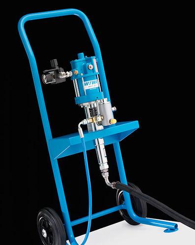unità di spruzzatura per vernice monocomponente / ad alta pressione / airless
