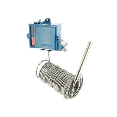 interruttore di temperatura ad espansione di gas / antideflagrante / con sonda a distanza