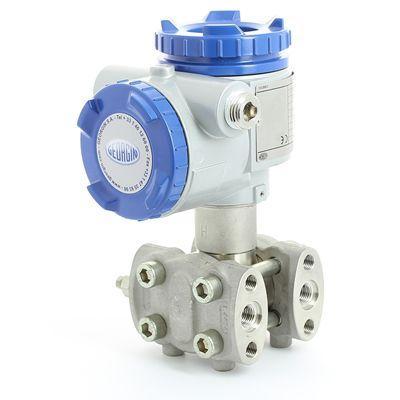 trasmettitore di pressione differenziale / a membrana / HART / Modbus