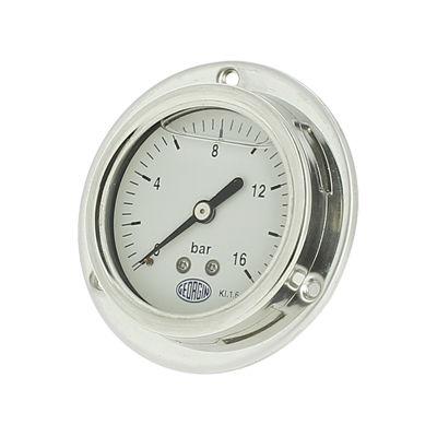 manometro analogico / a tubo Bourdon / per gas / per liquidi