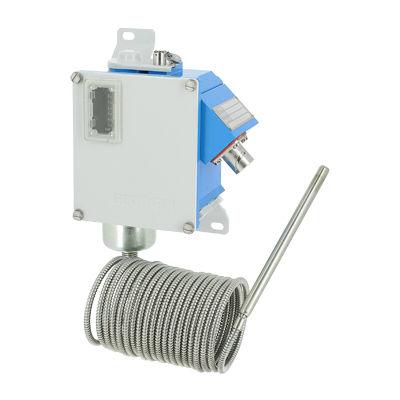 interruttore di temperatura ad espansione di gas / antideflagrante / con sonda a distanza / SIL