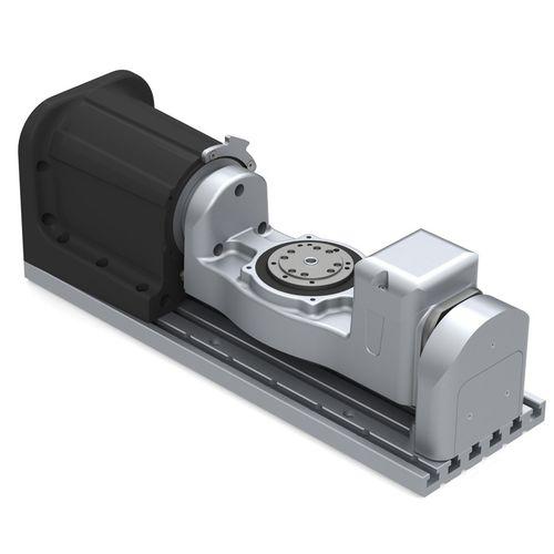 tavola rotante azionata a motore / inclinabile / di grande precisione / per carico elevato
