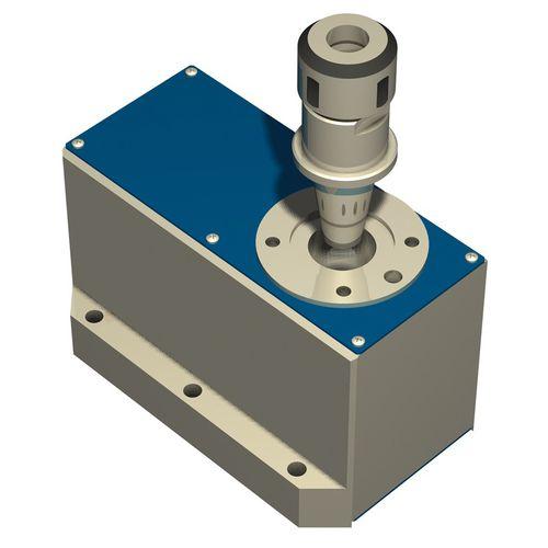 tavola rotante con motore passo-passo / verticale / spinta a cinghia / CNC