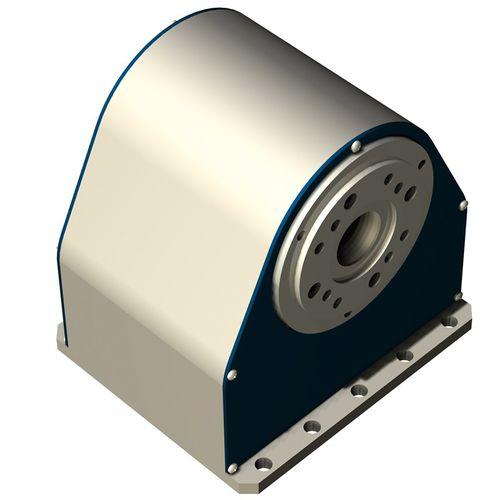 tavola rotante con motore passo-passo / orizzontale / CNC / spinta a cinghia