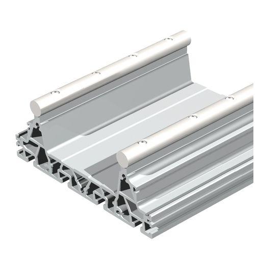 rotaia di guida / in acciaio / in alluminio / di precisione
