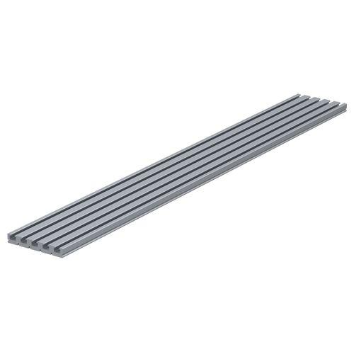 profilo in alluminio / rettangolare / a T / estruso
