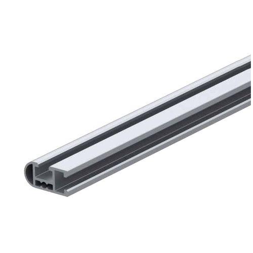 profilo in alluminio anodizzato / a sezione rettangolare / a T / estruso
