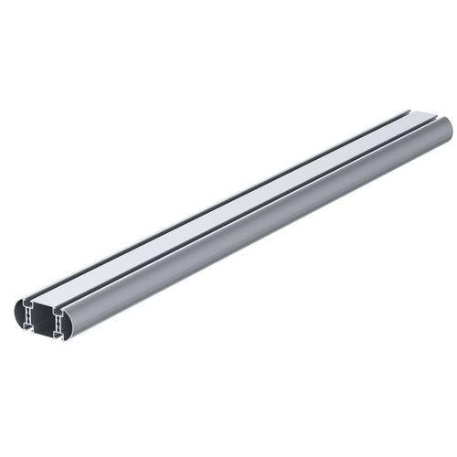 profilo in alluminio anodizzato / con scanalature / a sezione rettangolare / a T