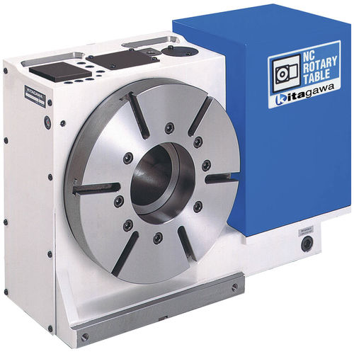 tavola rotante azionata a motore / verticale / per macchina utensile / NC