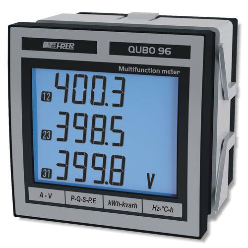 analizzatore per rete elettrica / di qualità di energia / da integrare / digitale
