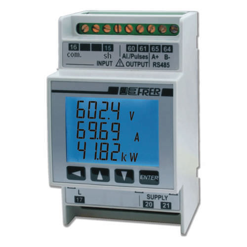 analizzatore di rete elettrica DC / di qualità di energia / di potenza / di tensione