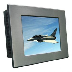 panel PC con retroilluminazione a LED / di LCD / 12