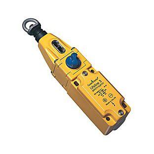 interruttore a trazione di cavo / unipolare / di arresto di emergenza / elettromeccanico