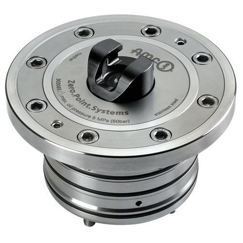 cilindro di bloccaggio a punto zero orizzontale - ANDREAS MAIER GmbH & Co. KG (AMF)