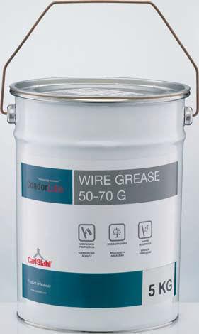 grasso di lubrificazione / sintetico / per cavi / biodegradabile