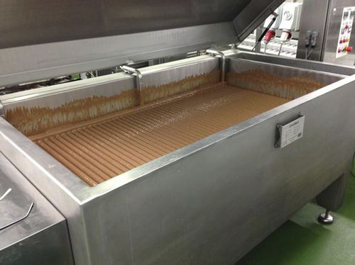 macchina di fusione di cioccolato / per l'industria agroalimentare