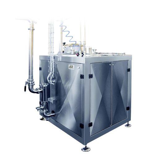 miscelatore a rotore-statore / per liquidi / per polvere / per l'industria agroalimentare