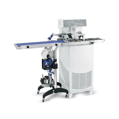 macchina per rivestimento di cioccolato / per la produzione di gelato