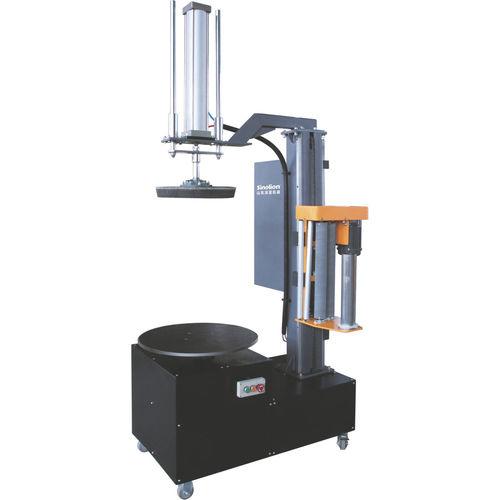 avvolgitrice fasciapallet a tavola rotante / semiautomatica / per cartone / per pellicola estensibile
