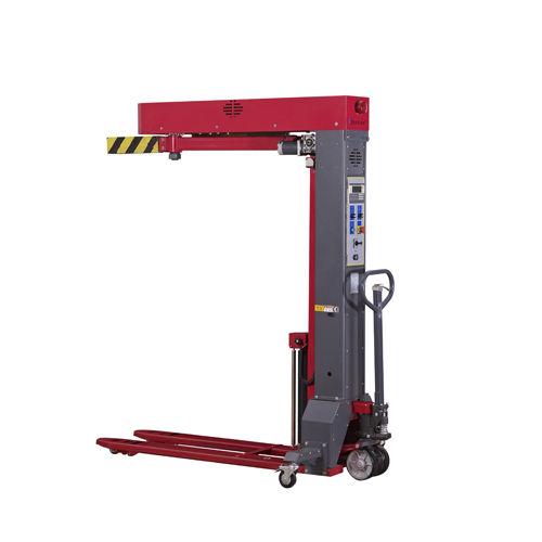 avvolgitrice fasciapallet a braccio rotante / automatica / di pallet / mobile